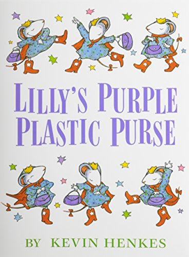Lilly's Purple Plastic Purse [With Hardcover Book] (Compact Disc): Kevin Henkes
