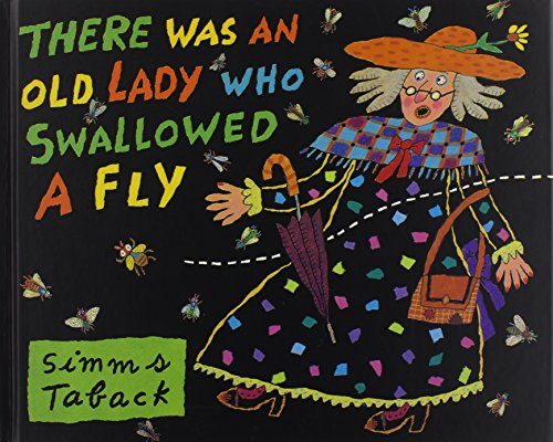 There Was an Old Lady Who Swallowed a Fly (Book & CD): Simms Taback