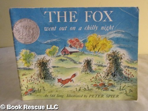 9781591124436: The Fox Went Out on a Chilly Night: An Old Song