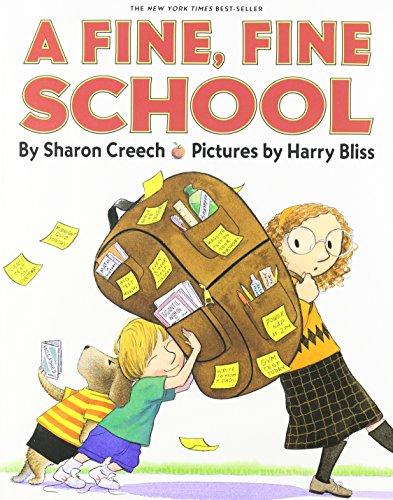 9781591124979: A Fine, Fine School [With Paperback Book] (Live Oak Readalongs)
