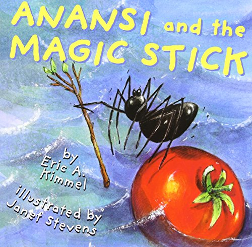 9781591125068: Anansi and the Magic Stick (1 Paperback/1 CD) (Live Oak Readalong)