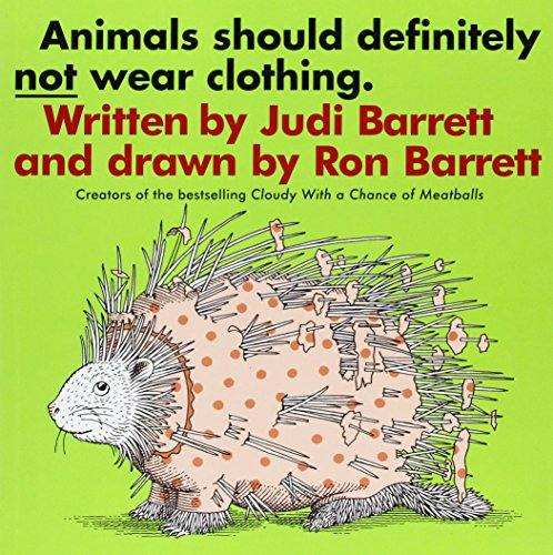 9781591126904: Animals Should Definitely Not Wear Clothing (1 Paperback/1 CD)