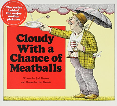Cloudy With A Chance Of Meatballs (Audio CD/Paperback): Judi Barrett
