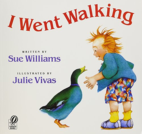 9781591127192: I Went Walking with CD [With Paperback Book] (Live Oak Readalongs)