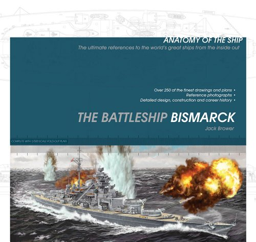 9781591140719: The Battleship Bismarck (Anatomy of the Ship)