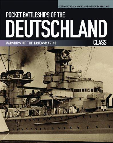 9781591141655: Pocket Battleships of the Deutschland Class: Deutschland/Lutzow–Admiral Scheer–Admiral Graf Spee (Warships of the Kriegsmarine)
