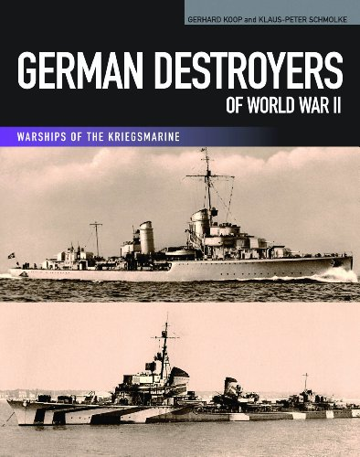 9781591141679: German Destroyers of World War II (Warships of the Kriegsmarine)
