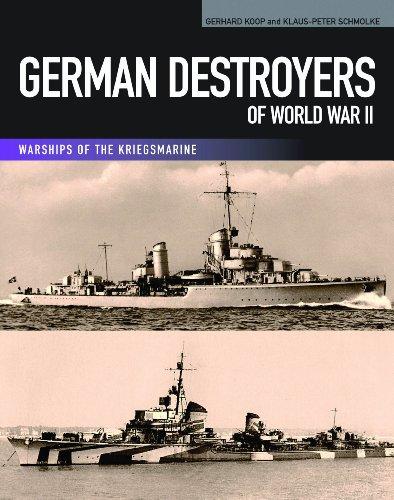 9781591141679: German Destroyers of World War II (Warships of the Kriegsmarine)