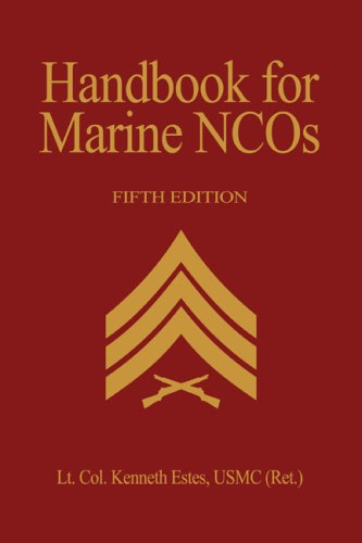 9781591142409: Handbook for Marine NCO's, 5th Edition