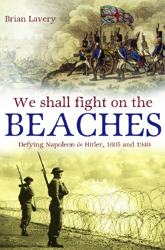 9781591149477: We Shall Fight on the Beaches: Defying Napoleon and Hitler, 1805 and 1940