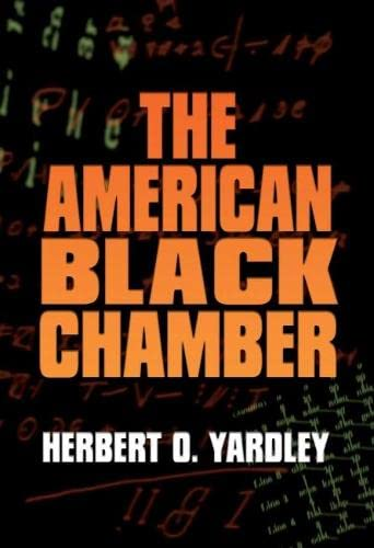 9781591149897: The American Black Chamber (Bluejacket Books)