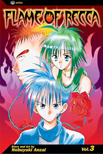 Flame of Recca, Vol. 3
