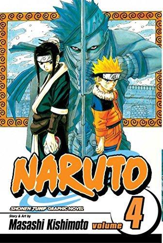 9781591163589: Naruto, Vol. 4: Hero's Bridge