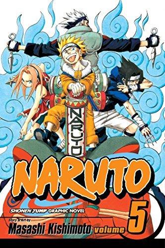 Naruto, Vol. 5: The Challengers: Kishimoto, Masashi