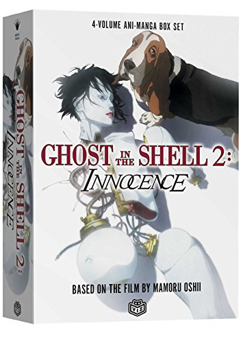 9781591168294: Ghost in the Shell 2: Innocence: 4-Volume Ani-Manga Box Set