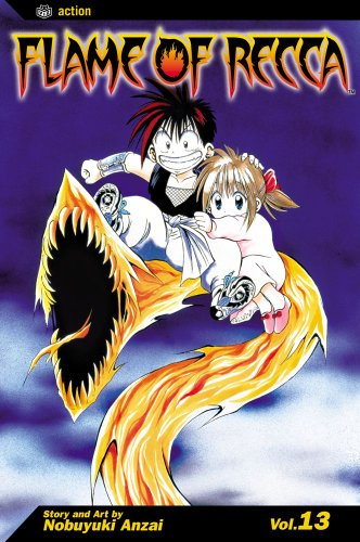 Flame of Recca, Vol. 13