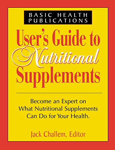 9781591200673: Users Guide to Nutritional Supplements (User's Guides)