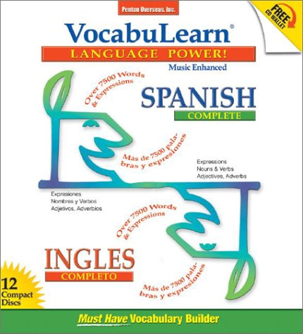 9781591252139: Vocabulearn Spanish/Ingles Complete (Vocabulearn Music-Enhanced) (Spanish Edition)