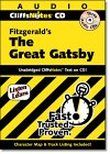 9781591252320: Cliffsnotes Fitzgerald's the Great Gatsby