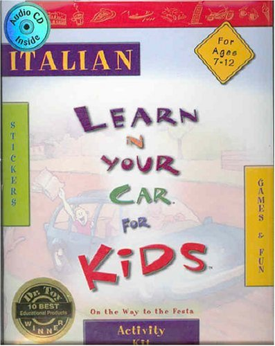Italian Learn in Your Car for Kids: Inc. Penton Overseas