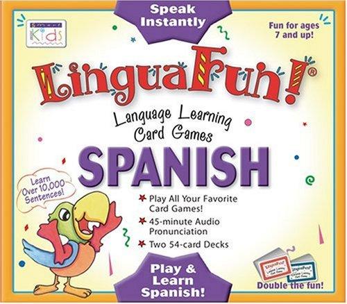 Linguafun!: Spanish Language Learning Card Games (Linguafun!: Penton Overseas, Inc.