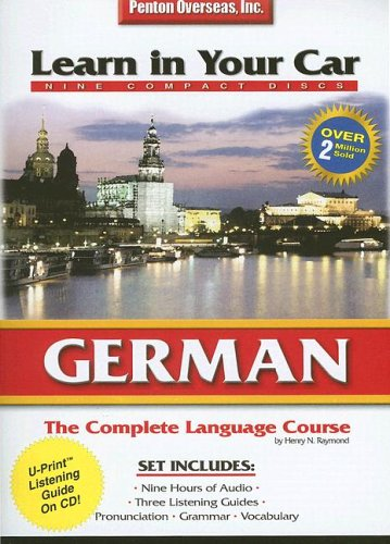9781591254393: German: The Complete Language Course (Learn In Your Car) (English and German Edition)
