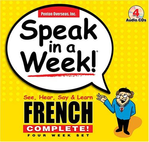 Speak in a Week French: See, Hear,: Inc Penton Overseas;