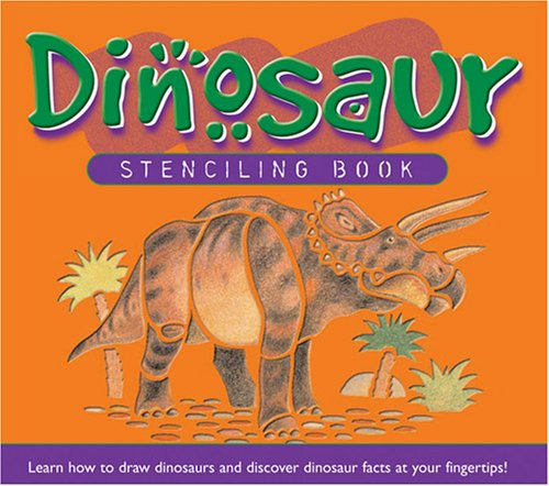 9781591255635: Dinosaur Stenciling Book (Penton Kids Press)