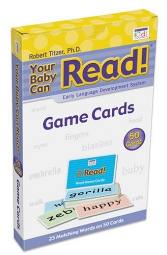 9781591258117: Game Cards: Early Language Development System (Your Baby Can Read!)