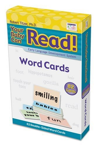 9781591258124: Word Cards: Early Language Development System (Your Baby Can Read!)