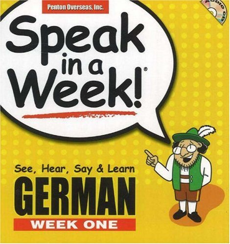 9781591258209: Speak in a Week German: Week One (German and English Edition)