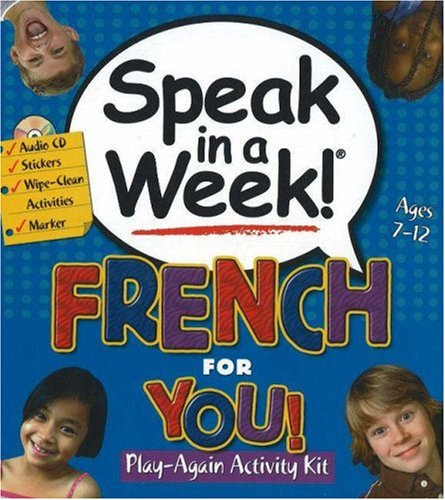 9781591258377: Speak in a Week French for You (French Edition)