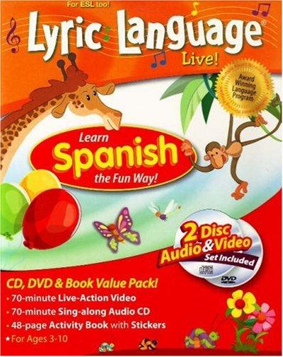 9781591259299: Lyric Language Live!: Learn Spanish the Fun Way! (Spanish Edition)