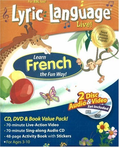 9781591259312: Learn French the Fun Way! [With CD and DVD] (Lyric Language Live)