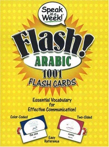 Speak in a Week! Flash! Arabic: 1001: Inc Penton Overseas