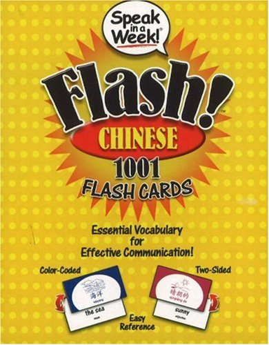 9781591259442: Speak in a Week! Flash! Chinese: 1001 Flash Cards (Chinese Edition)