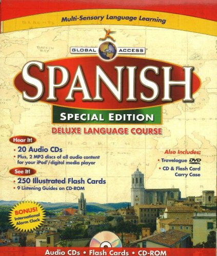 9781591259459: Global Access Spanish: Deluxe Language Course (English and Spanish Edition)