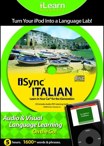 9781591259701: Isync Italian: Learn in Your Car for the iGeneration (iLearn Anywhere) (Italian Edition)
