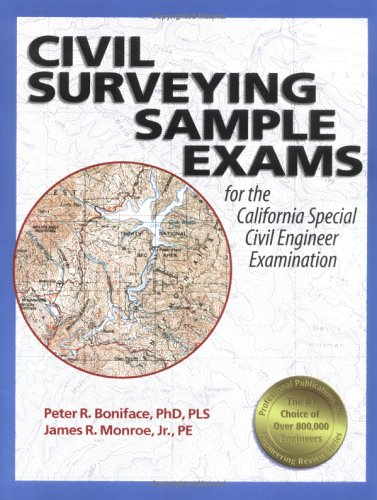 9781591260004: Civil Surveying Sample Exams: for the California Special Civil Engineer Examination