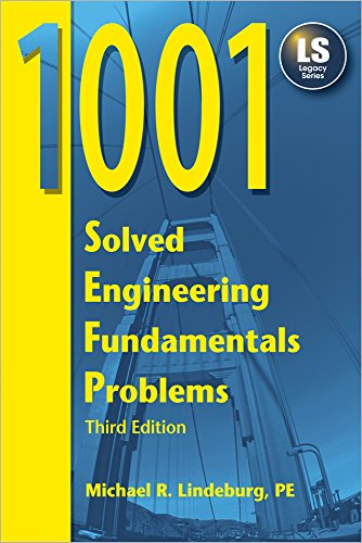 9781591260028: 1001 Solved Engineering Fundamentals Problems, 3rd Ed