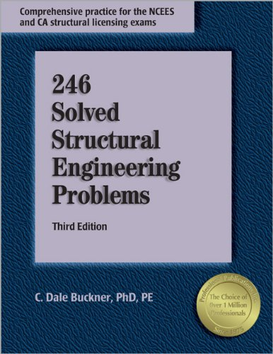 9781591260035: 246 Solved Structural Engineering Problems, 3rd ed.
