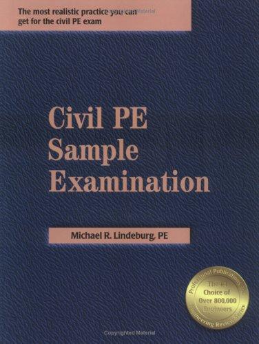 9781591260059: Civil Pe Sample Examination