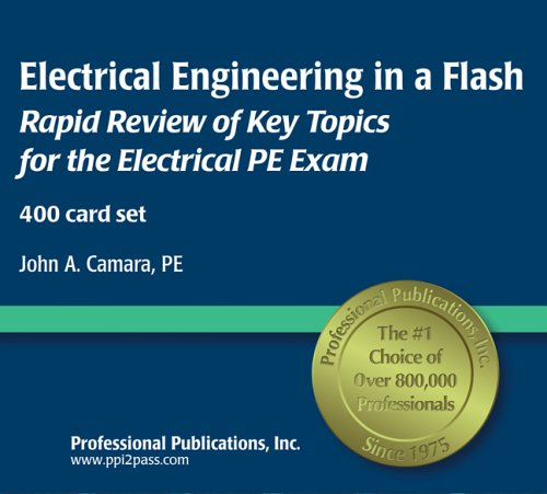 9781591260301: Electrical Engineering in a Flash: Flashcard Review of Key Topics