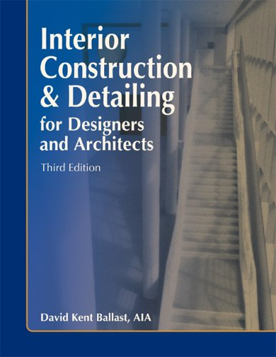 9781591260325: Interior Construction & Detailing for Designers and Architects, Third Edition