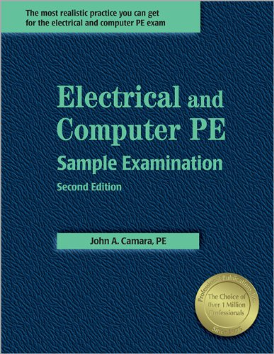 9781591260547: Electrical And Computer PE Sample Examination, 2nd ed.