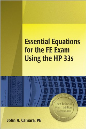 9781591260561: Essential Equations for the Fe Exam Using the Hp 33s