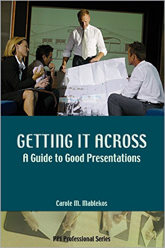 9781591260639: Getting It Across: A Guide to Good Presentations