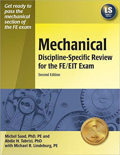 Mechanical Discipline-Specific Review for the FE/EIT Exam,