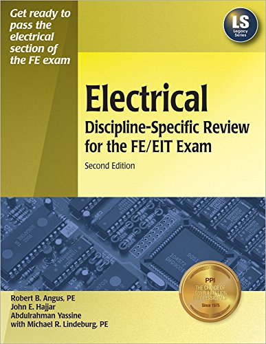 9781591260660: Electrical Discipline-Specific Review for the FE/EIT Exam, 2nd Ed