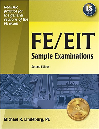 9781591260745: FE/EIT Sample Examinations, 2nd Ed
